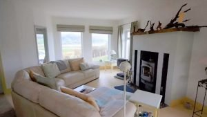 Seagrass Holiday Home Dunfanaghy - living area