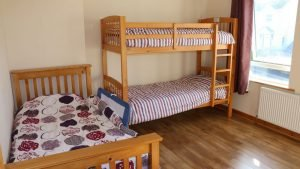 No.42 Oak Grove Dunfanaghy - bunk bedroom