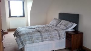 15 Rinn na Mara Dunfanaghy - upper floor double bedroom